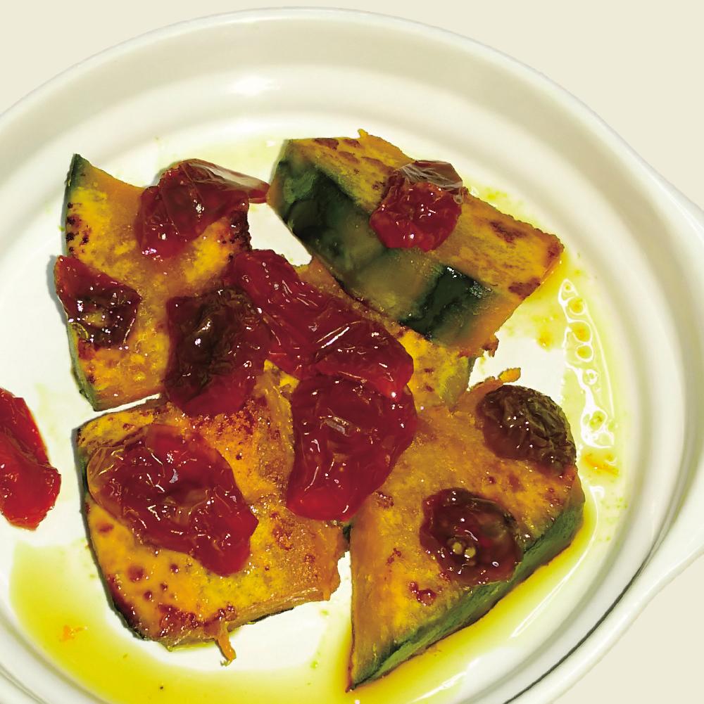 素焼き野菜×乾燥トマト甘酢の南蛮風