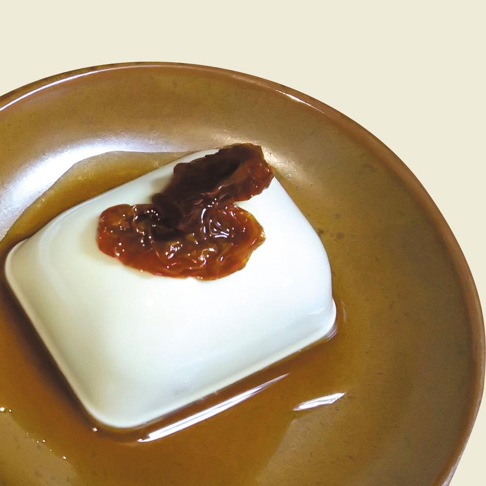 乾燥トマト甘酢×冷奴