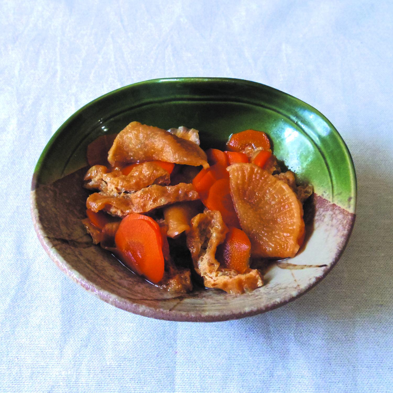 乾燥西洋カブの煮物